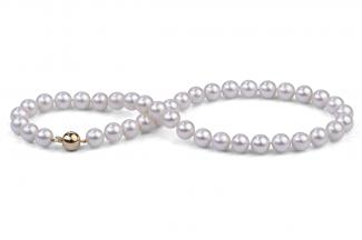 White Freshwater Pearl Necklace 10.00 - 10.50mm
