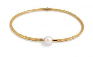 Golden Net Necklace
