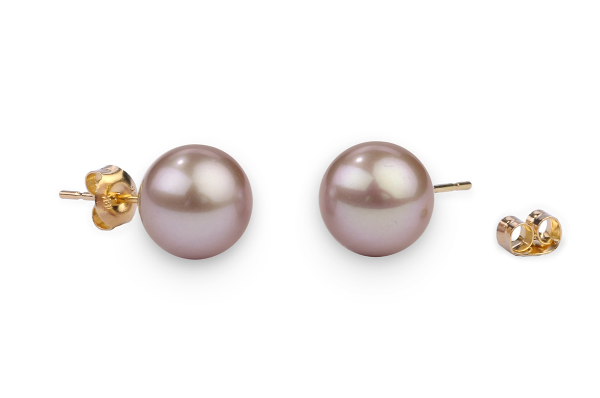 Lavender Freshwater Pearl Earrings