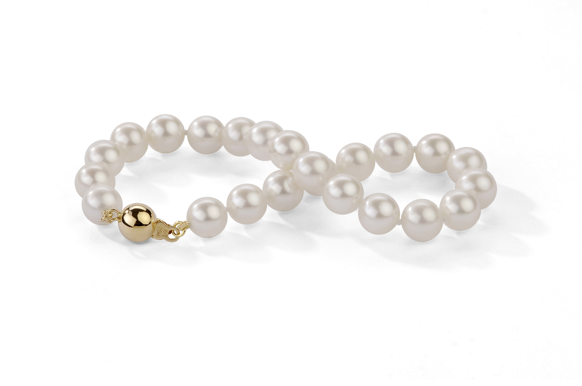 White Freshwater Pearl Bracelet 6.00 - 6.50mm