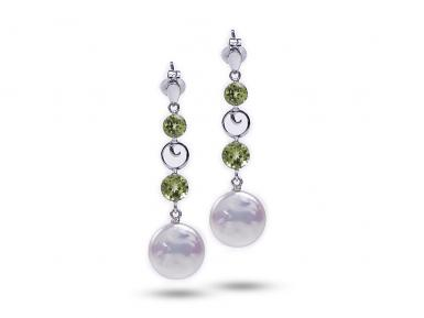 White Freshwater Jolly Pearl Earrings