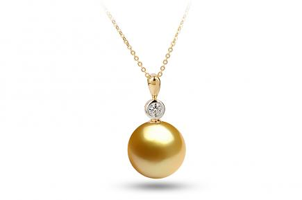 Golden South Sea Diana Pearl Pendant 11.00-11.50mm