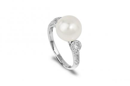 White Freshwater WG Alika Pearl Ring 10.00 - 10.50mm