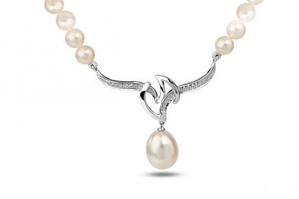 White Freshwater WG Dione Pearl Pendant 9.50 - 10.00mm
